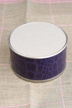 Box to embroider Purple large model