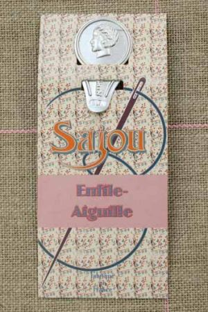 Needle threader Sewing - embroidery cream card