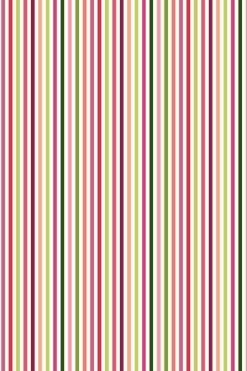 Sajou fabric with stripes in the tones of Josephine's roses