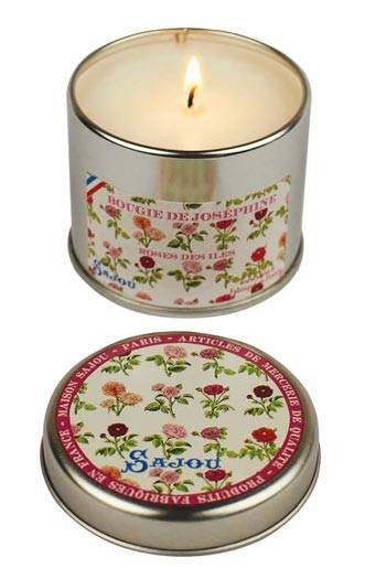Josephine scented candle - rose fragrance