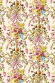 Swatch coated Sajou fabric Queen's Bedchamber Palace