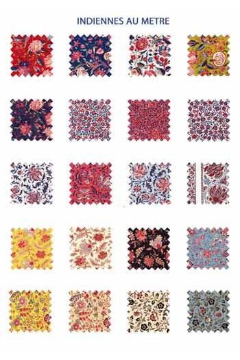 Sajou indienne fabrics collection 1