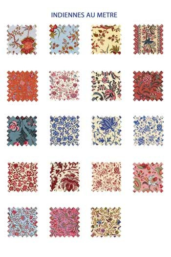 Sajou indienne fabrics collection 2