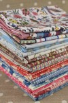 The collection of Sajou fabrics in fat quarters
