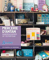 Livre mercerie de collection Mercerie d'Antan