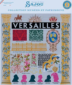 Versailles Place pattern chart in Museums and Heritage Collection