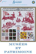 Spectacular embroidery pattern charts inspired by the Toile de Jouy Museum