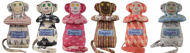 Petits singes de la famille Sajou