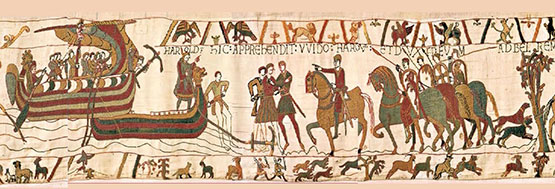 Image result for images the bayeux tapestry