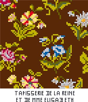 The tapestry made by Marie-Antoinette and Mme Élisabeth